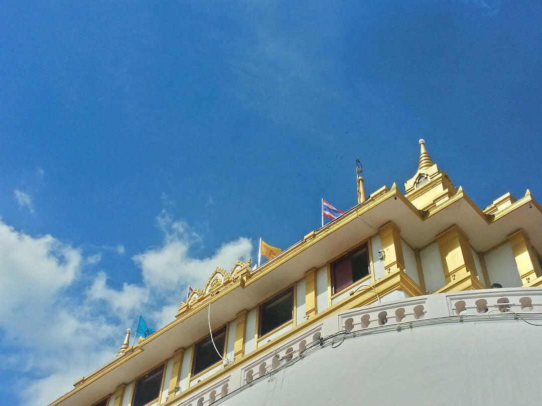 golden mount wat saket bangkok thailand
