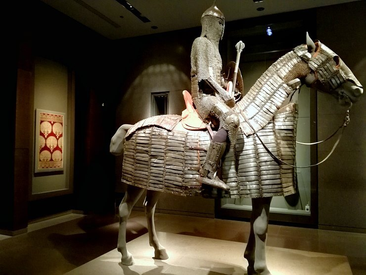museum of islamic art qatar ancient armor