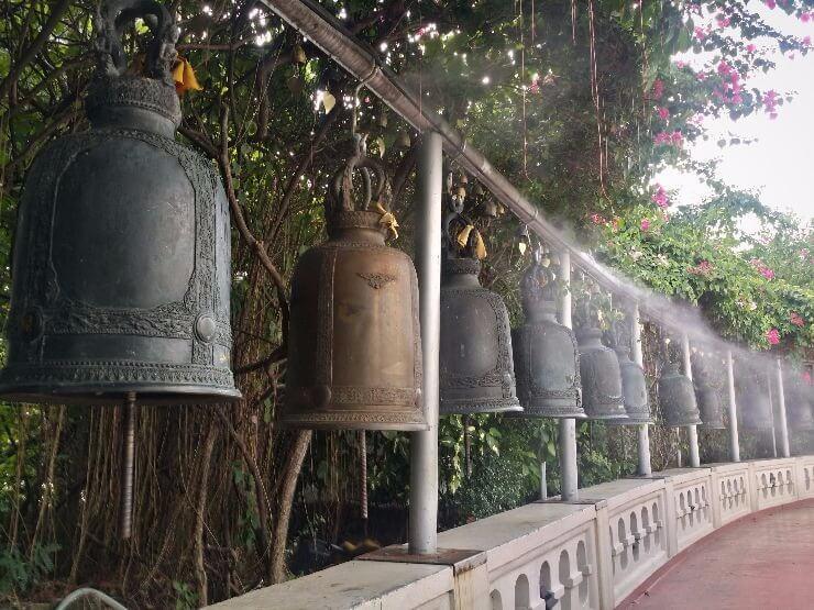 bells stairs golden mount bangkok