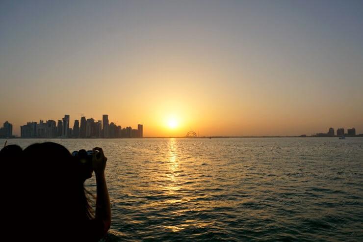 doha sunset dhow cruise