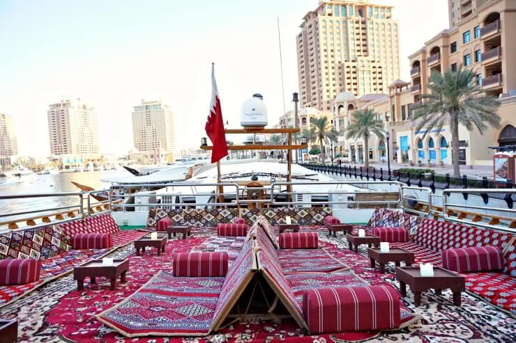 national cruise qatar dhow cruise majlis