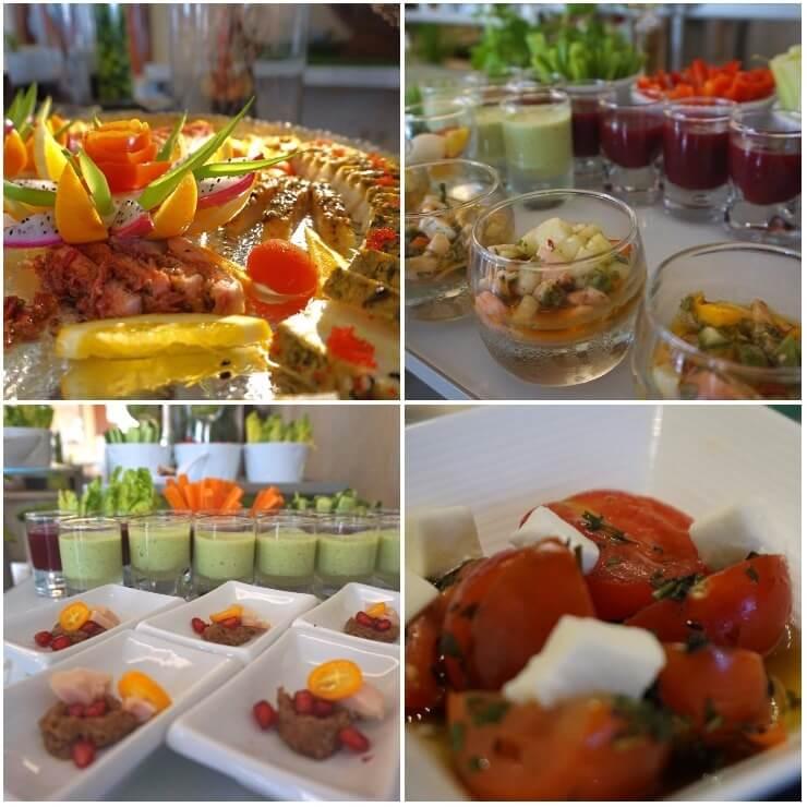 st regis doha grand brunch appetizers salad