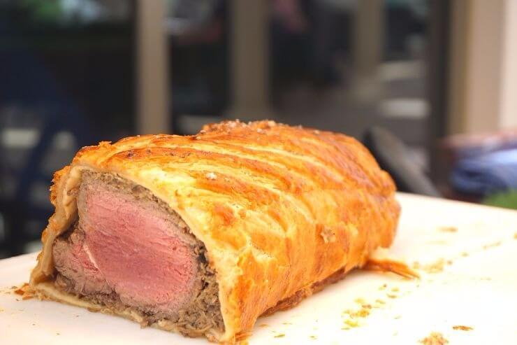 st regis doha grand brunch beef wellington