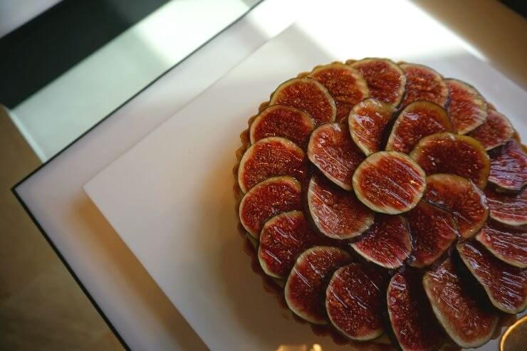 st regis doha grand brunch fig tart