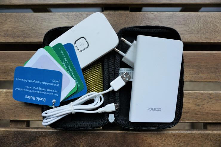 Alldaywifi review: best pocket Wi-Fi for traveling in Turkey