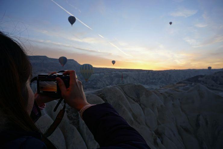 cappadocia hot air balloon photography