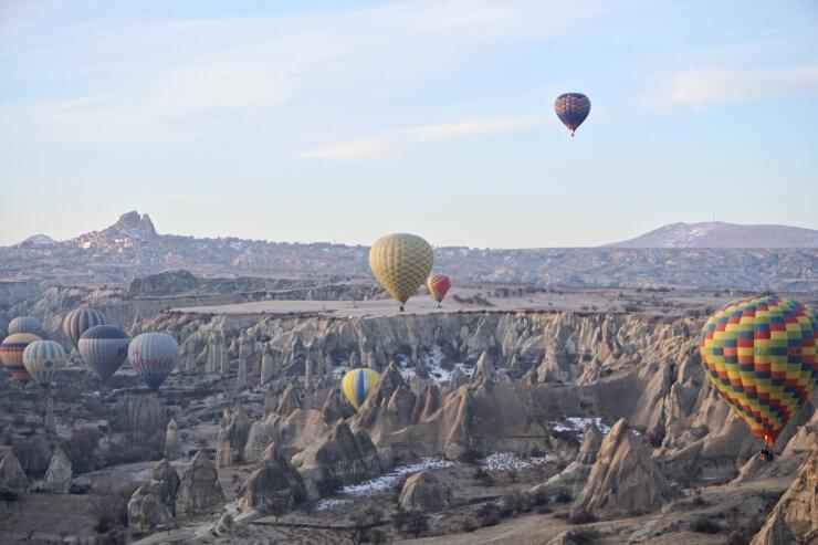 turkey cappadocia hot air balloon
