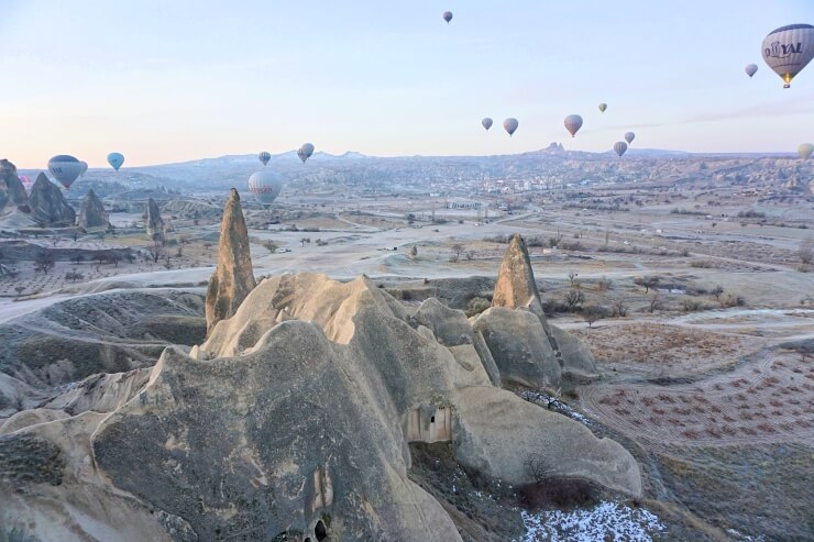 royal balloon turkey cappadocia hot air balloon ride winter
