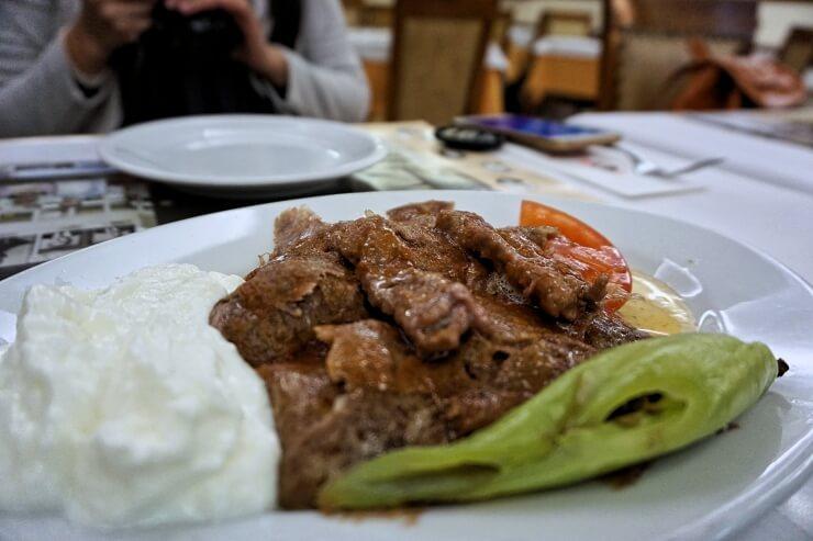istanbul food tour iskender kebap kadikoy