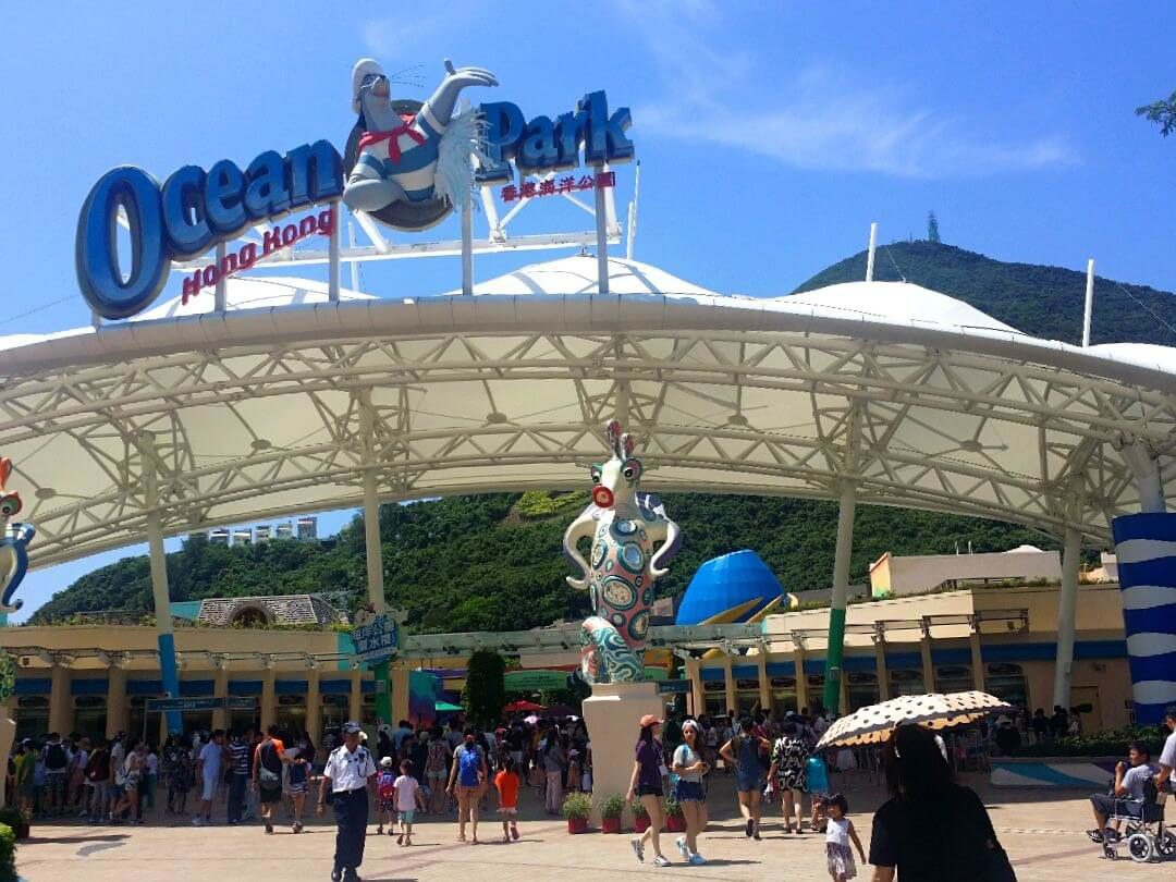 Ocean park hong kong complete travel guide sample itinerary ocean park hong kong entrance gumiabroncs Image collections
