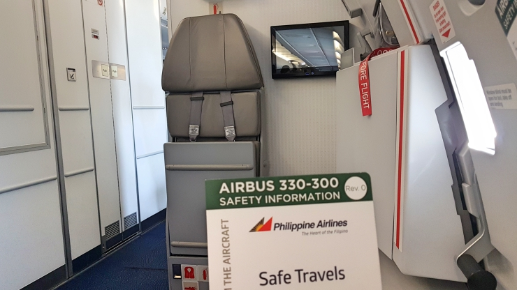 Philippine Airlines Review: A330-300 Economy Manila-Doha